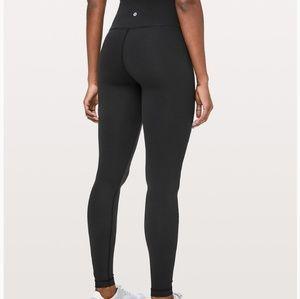 "lulu Wunder Under HR Tight Luxtreme 28"" Black"